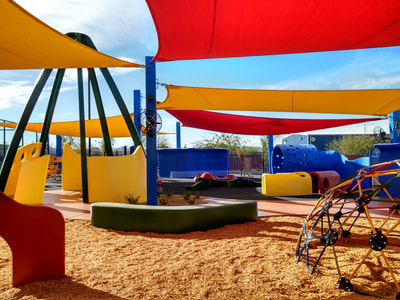 Aviva Children's Services playground construction Tucson Arizona